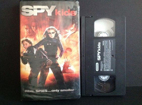 Spy Kids (VHS, 2001)  Antonio Banderas, Daryl Sabara, Alexa Vega