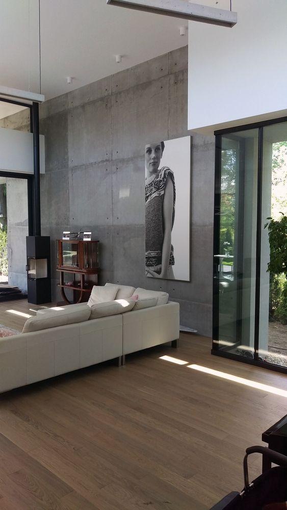 Gallery Of Fil House Beczak Beczak Architekci 5 Concrete Walls Interior Contemporary Interior Design Concrete Wall