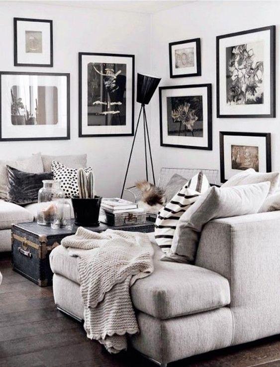 die besten ideen zu vintage wohnzimmer wohnzimmer deko und wohnzimmer schwarz weiss auf. Black Bedroom Furniture Sets. Home Design Ideas