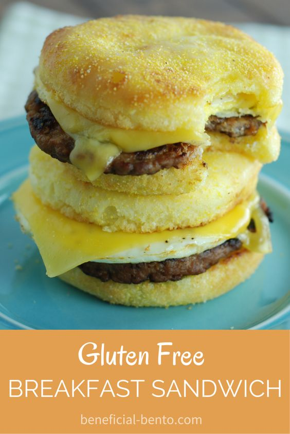 gluten free breakfasts breakfast sandwiches english muffins gluten ...