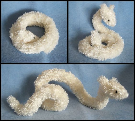 Les Fées Tisseuses :: [Peluche] Tuto d'un dragon serpent so cute en peluche