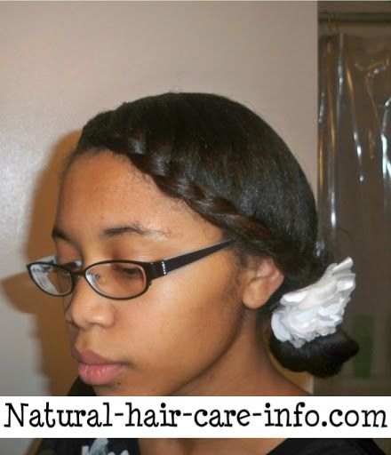 Medium Length Curly Hair Do For Teens - Natural Hair Care Info
