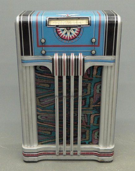 Art Deco Radio. Have sum of the AD radios and most of the jukeboxes....knot the counter models