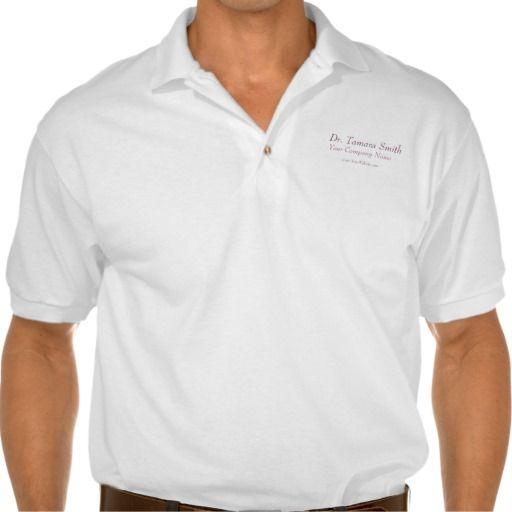 White Dentist, Dental Polo Shirts