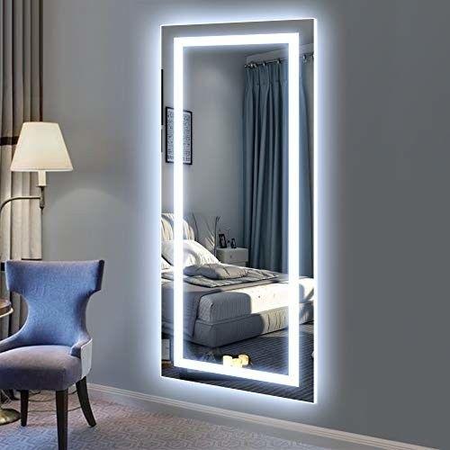Philwin Large 50cmx120cm Led Full Length Backlit Mirror Oversized Rectangle Dre Mirror Wall Decor Bedroom Wall Decor Bedroom Bedroom Decor