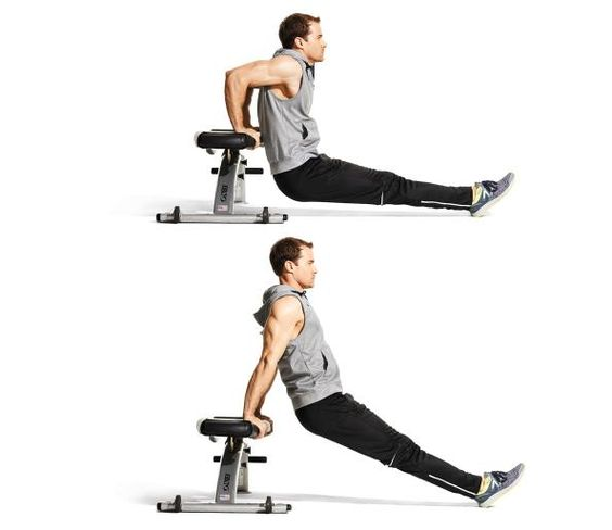 Bench Dips 28 Images 10 Dips Exercises Cable Rope Overhead Triceps Extension Exercise