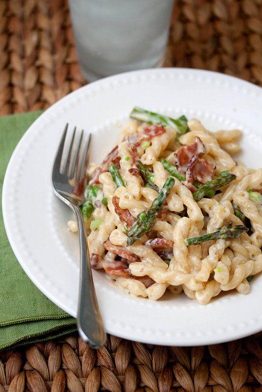 Bacon & Asparagus Pasta | Recipe | Asparagus Pasta, Asparagus and ...