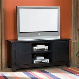 Arts & Crafts Entertainment Console   TV Stands & Entertaiment Centers   Brylanehome