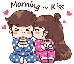 Boobib Sweet Day English Ver Line Stickers Line Store Cute Love Cartoons Cartoons Love Cute Love Stories