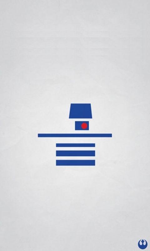 18 fonds d'écran minimalistes Star Wars | Autour du Web