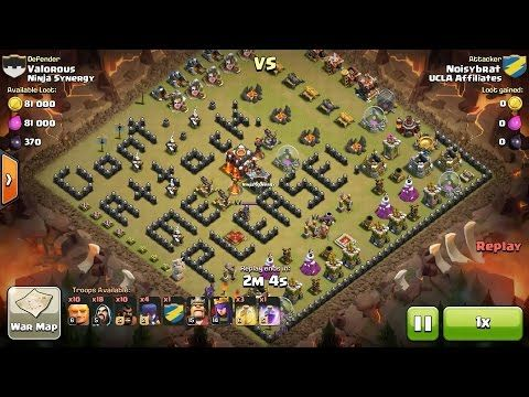 clash of clans war advice
