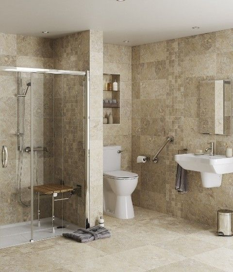 Make sure your bathroom has all the right grab bars!