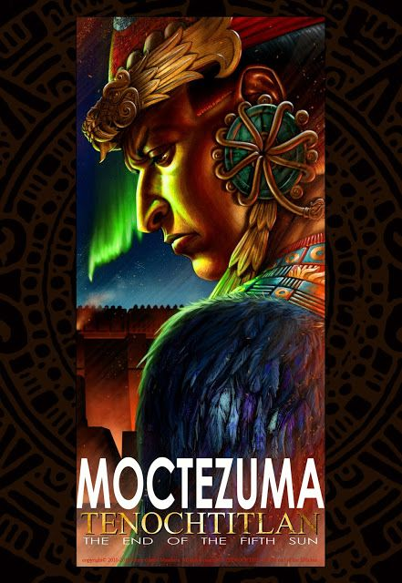 For Tenochtitlan, relation of a graphic novel: Motecuhzoma II, emperor of Mexica / Moctezuma II, ...