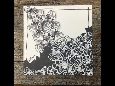 Easy Zentangle Meditative Art Roloflex Youtube Zen Doodle Art Art Zentangle