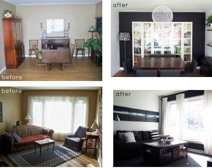 Search and google on pinterest for Remodelacion de casas pequenas fotos