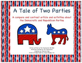 democrat and republican parties essay In a few nightly doses on television every four years, the republican and democratic national conventions seem like little more than political pageants—pricey infomercials for the parties and .