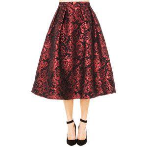 AKIRA Black Label Festive Rose Skirt