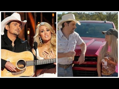 Carrie Underwood And Brad Paisley S Funniest Moments Youtube Funny Moments Videos Brad Paisley Funny Moments