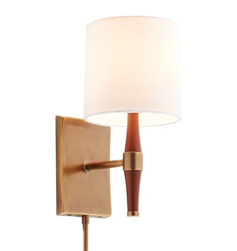 Home Goods Wall Lamps : Linnton Wall Sconce - Antique Brass Master bedrooms, Oregon and Hardware