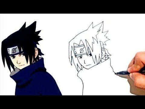 رسم ساسكى خطوة بخطوة من أنيمى ناروتو Drawing Sasuke Step By Step Anime Naruto Youtube In 2021 Sasuke Drawing Drawings Drawing Tutorial