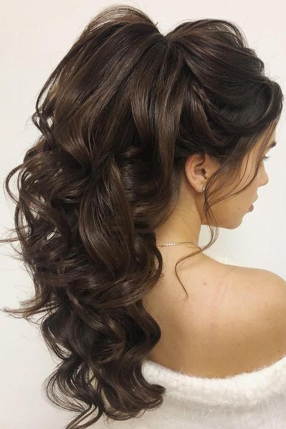 Hairstyles Hair Tutorial Wedding Hairstyles Hairstyle Hair Hairstyles For Long Hair Hair Styles Long Wavy Hair Long Hair Wedding Styles