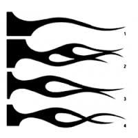 Resultado de imagem para stencil para pintura aerografia
