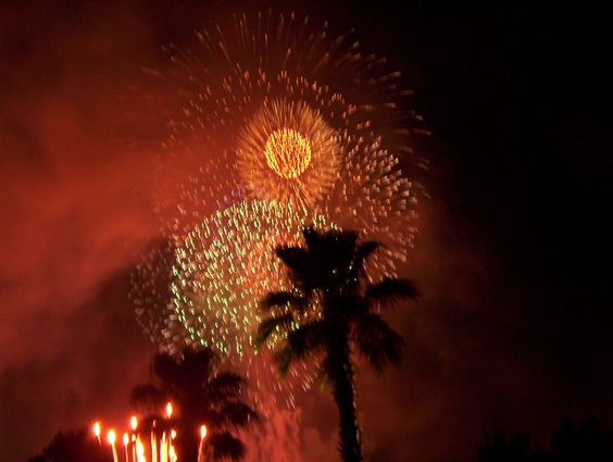 Fireworks in the Tropics