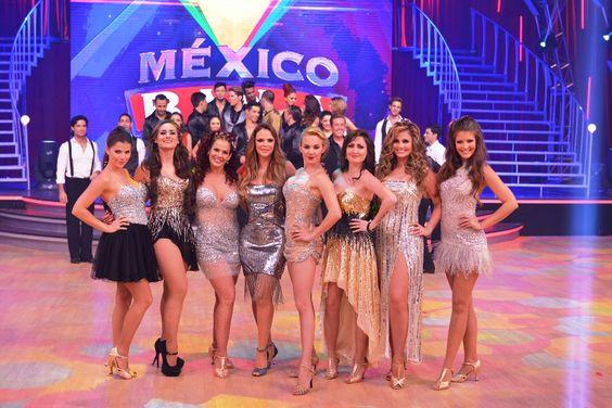 The style constelation in the show  mexico baila | México baila; 14 parejas formadas por famosos | Página Ciudadana