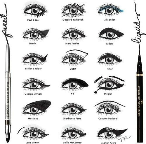 Liquid & Pencil eye effects