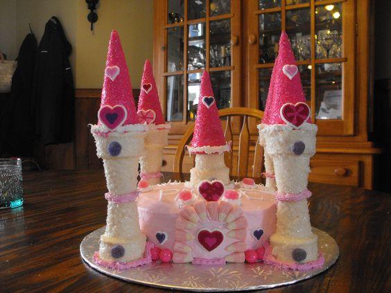 how to make princess caketop