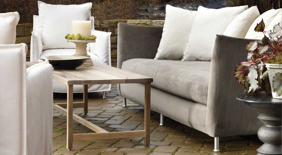 Oleander Outdoor Sofa -- Circle Furniture This is outdoor ready!  Wow.