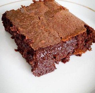 Le gâteau très fondant au chocolat