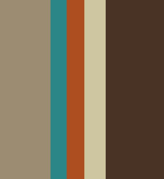 Terracotta And Turquoise Kitchen Color Palettes