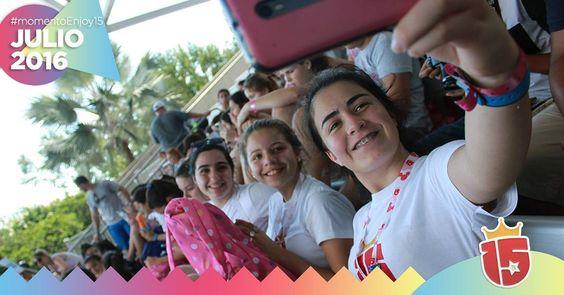 #momentoEnjoy15 en #julio2016 fueron las 21412415135135 selfies que te sacaste! Subí las mejores con hashtag #enjoy15 - Queremos verlas!