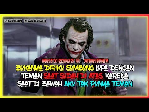 Kumpulan Quotes Berkelas Versi Joker Cocok Buat Story Wa Dj Lay