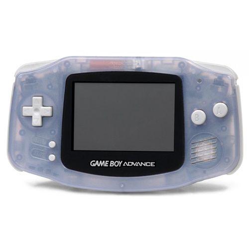 Gameboy Advance System Clear Glacier Gameboy Game Boy Advance Nintendo Game Boy Advance