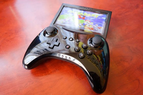 Custom-made portable retro gaming console using a Raspberry Pi and aWii Pro Controller - Imgur