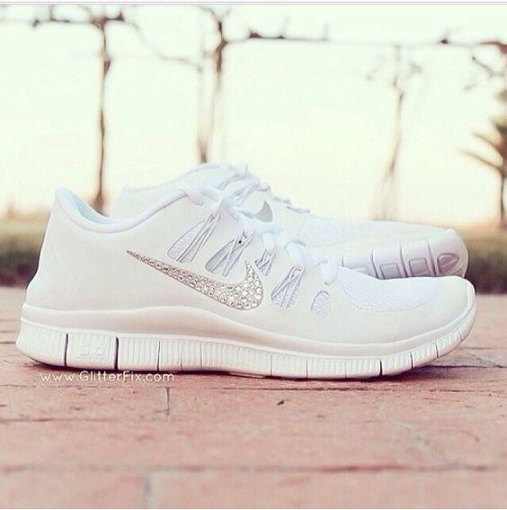 Nike Free 5.0 All White