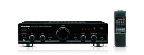 Pioneer A 307r 80w Audio Stereo Amplifier Receiver Black 220 Voltage Not For Usa Use By Pioneer 329 99 Output Pow Stereo Amplifier Stereo Systems Stereo