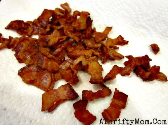 how to make bacon bits