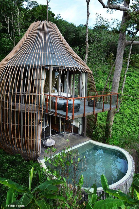 Tree house pool villa at Keemala - if its hip its here
