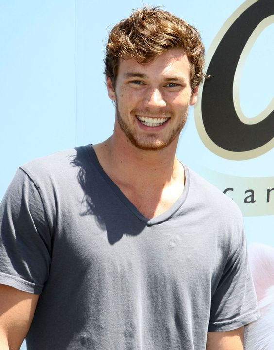 Not only is he hot and tall....but he is also smart and has some ginger in him!!! Love Derek Theler!
