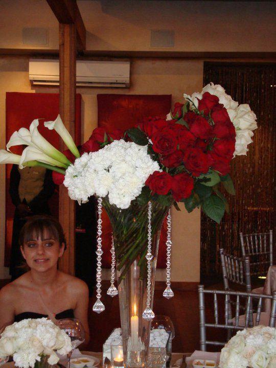 Modern Tall Flower arrangement
