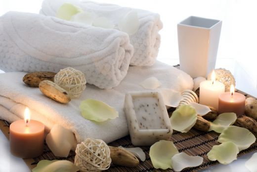 spa decor in bathroom how to