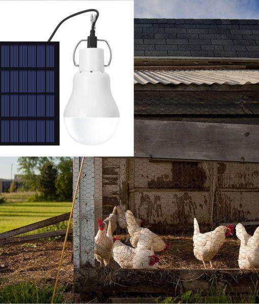 Portable Solar Powered Led Bulb Led Bulb Solar Power Solar Panels