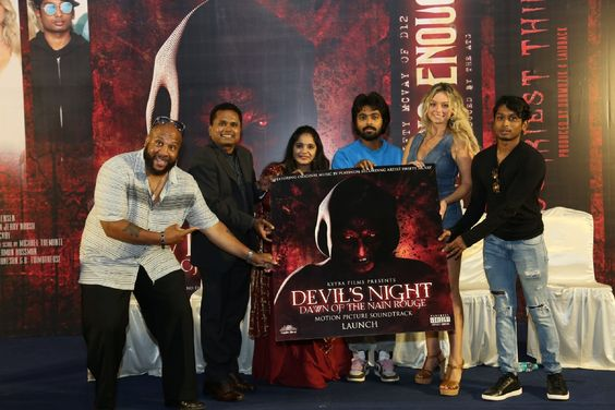 Devil's Night Motion Picture and Sound Track Launch