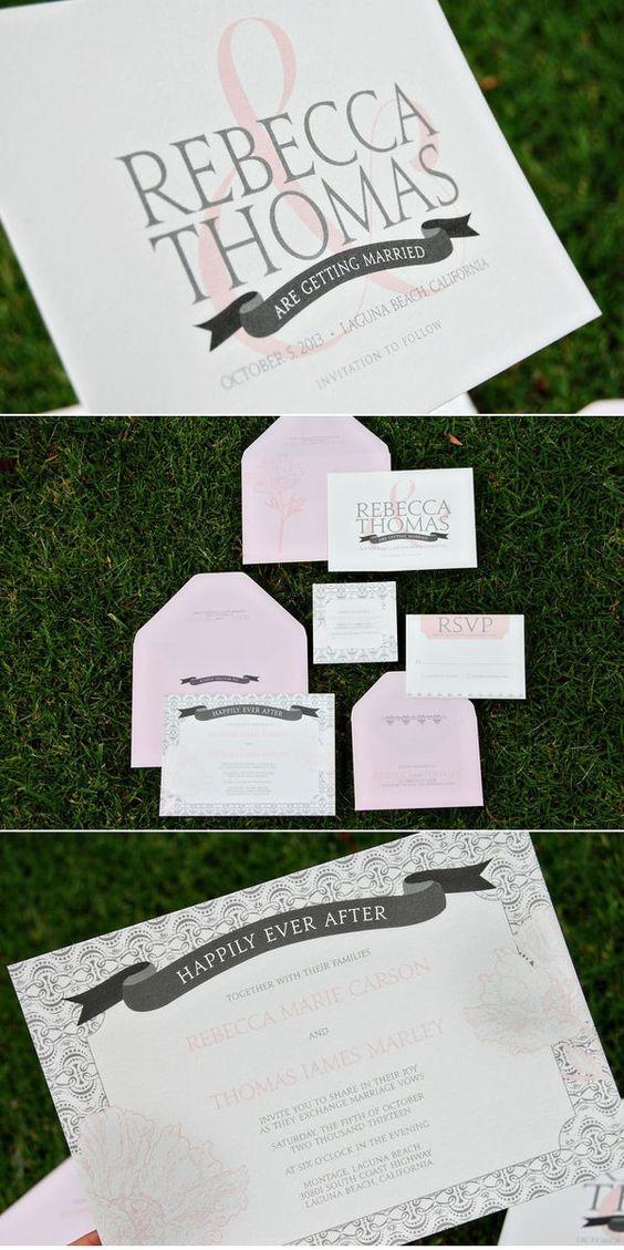 Sweet Wiley Valentine invitations