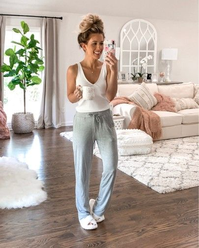 Comfy casual Loungewear outfit