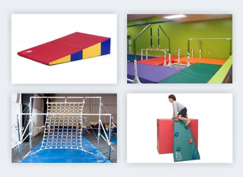 Kids Fundamental Kindergym Gymnastics Equipment Amp Mats Preschool Gymnastics Pinterest