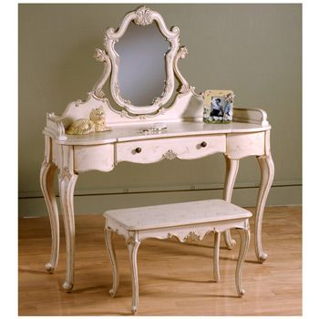 retro vanity table #glamouriety #benefitglam